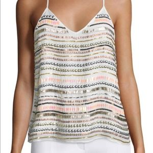 Tularosa Sequin Beaded Tank